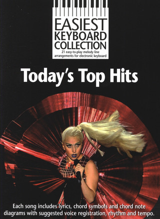Easiest Keyboard Collection: Today's Top Hits