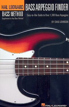 Chad Johnson: Hl Bass Method Arpeggio Finder 6 X 9