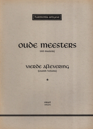 Alte Meister 4 - Oude Meesters