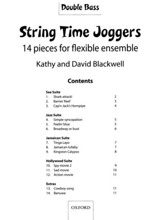 Blackwell Kathy + David: String Time Joggers