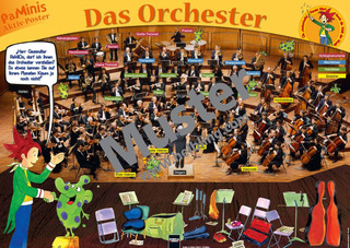 Poster Grundschule: Das Orchester