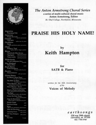 Keith Hampton: Praise his Holy Name