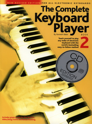 Kenneth Baker: Complete Keyboard Player Book 2 2003 Revised Edition Bk/Cd