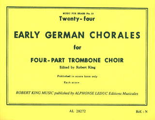 Anonymus: 24 Early German Chorales