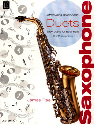 James Rae: Introducing Saxophone – Duets für 2 Saxophone (S/ A/ T) (2006)