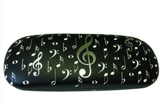 Glasses Case Music Notes