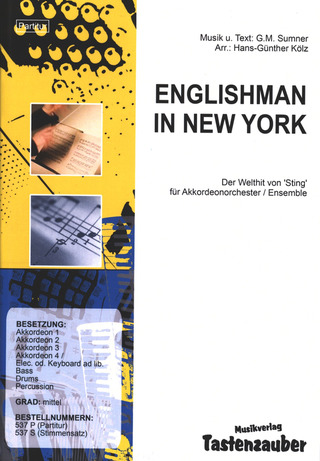 Sting: Englishman In New York