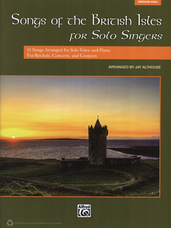 Songs of the British Isles for Solo Singers – Medium High