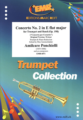 Amilcare Ponchielli: Concerto 2 E flat major op.198