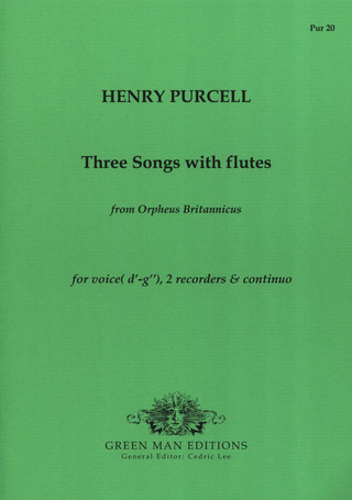 Henry Purcell: Three Songs with Flutes