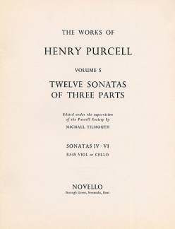 Henry Purcell: 12 Sonatas Of Three Parts 4 5 6
