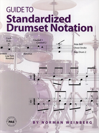 Norman Weinberg: Guide to Standardized Drumset Notation