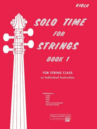 Solo Time For Strings 1