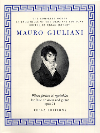Mauro Giuliani: Pieces Faciles Et Agreables Op 74