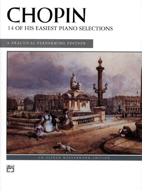 Frédéric Chopin: 14 of his easiest Piano Selections