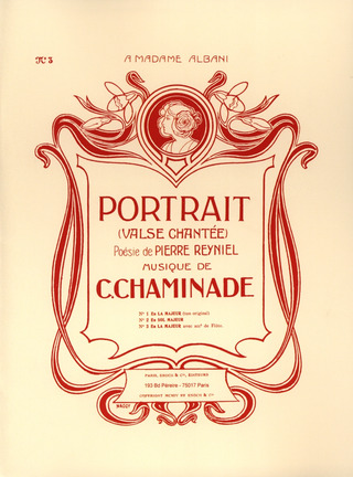 Cécile Chaminade: Portrait (Valse Chantee)