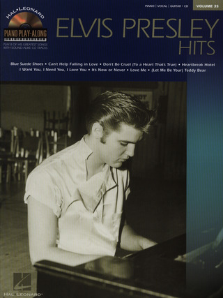 Elvis Presley: Piano Play-Along Volume 35 Elvis Presley Hits Pvg Book / Cd