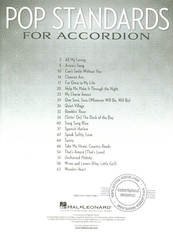 Pop Standards for Accordion (1)