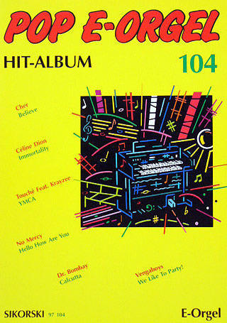 Pop E-Orgel Hit-Album 104