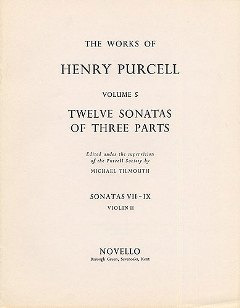 Henry Purcell: 12 Sonatas Of Three Parts 7 8 9