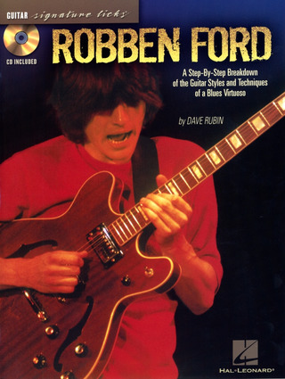 Dave Rubin: Robben Ford: Signature Licks Tab Book/Cd
