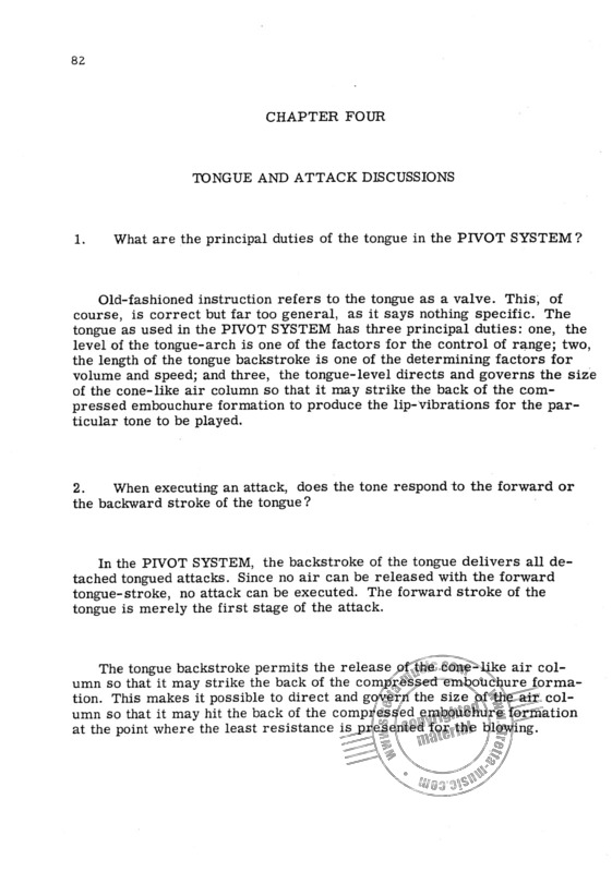 Donald S. Reinhardt: Encyclopedia of the Pivot System (3)