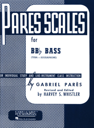 Gabriël Parès: Pares scales for tuba