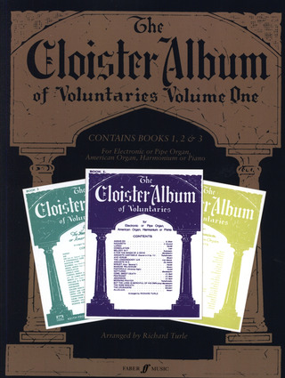 Cloister Album Of Voluntaries 1 (Band 1 2 + 3)