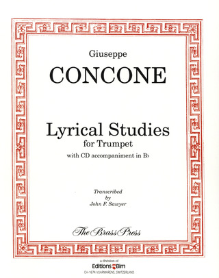 Giuseppe Concone: Lyrical Studies