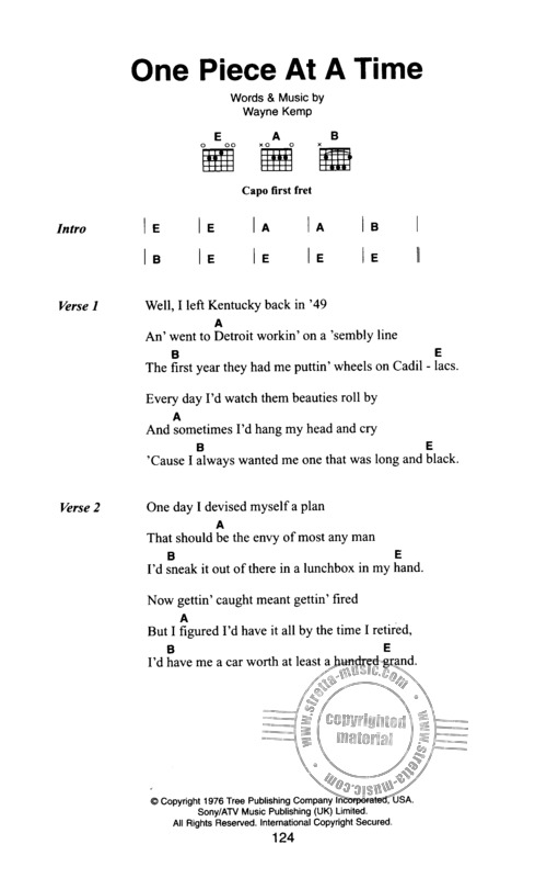 Johnny Cash The Little Black Songbook Guitar Chords /& Lyrics Music Song Book