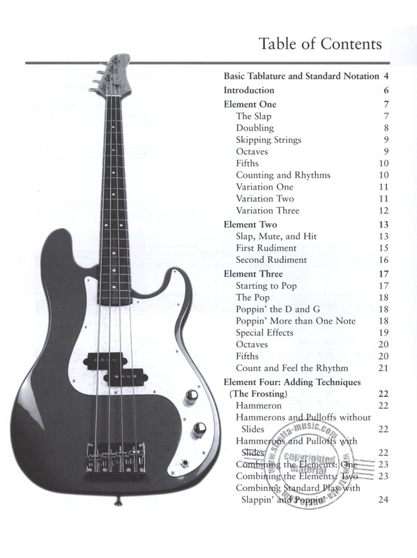 Mccarvill Chris: Slappin' And Poppin' For Bass Guitar Bk/Dvd (1)