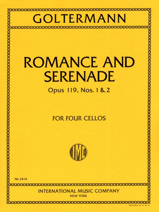 Georg Goltermann: Romance and Serenade op. 119/1–2