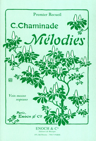 Cécile Chaminade: Melodies 1