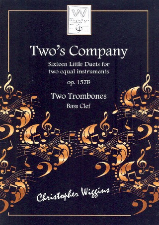 Christopher D. Wiggins: Two's Company op. 157b