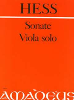 Willy Hess: Sonate Op 77