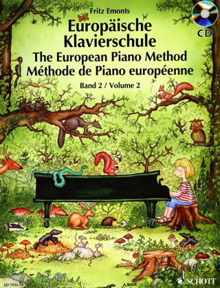 Fritz Emonts: The European Piano Method 2