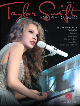 Taylor Swift: Taylor Swift for Piano Solo