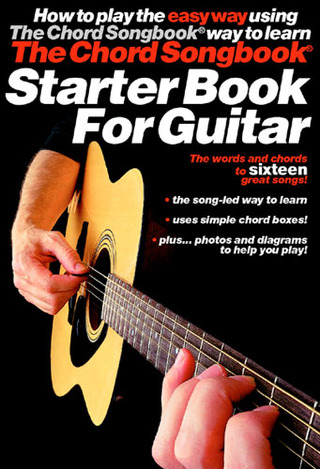 Chord Songbook Starter Book For Guitar