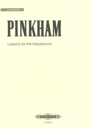 Daniel Pinkham: Lessons for the Harpsichord