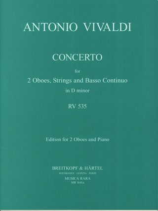 Antonio Vivaldi: Concerto in d RV 535
