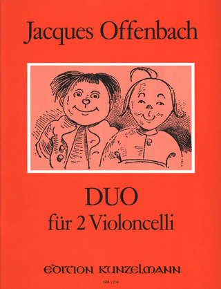 Jacques Offenbach: Duo op. 54/2