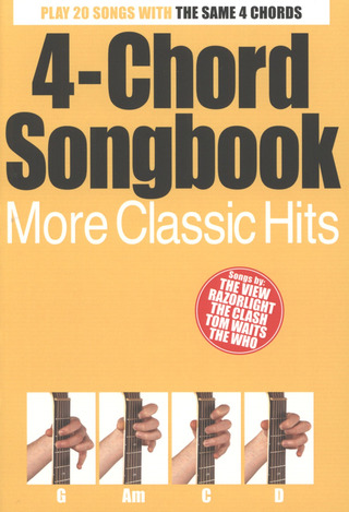 4-Chord Songbook More Classic Hits Gtr