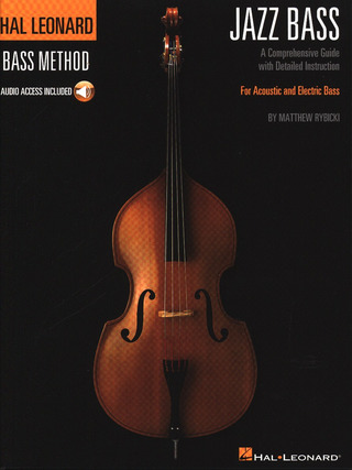 Matthew Rybicki: Hal Leonard Bass Method: Jazz Bass (Book/Online Audio)