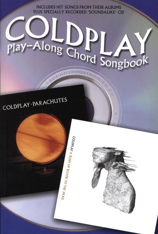 Coldplay: Coldplay Playalong Chord Songbook Bk/Cd