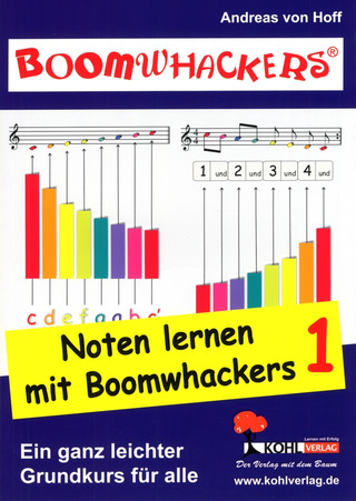 Andreas von Hoff: Boomwhackers – Noten lernen mit Boomwhackers 1