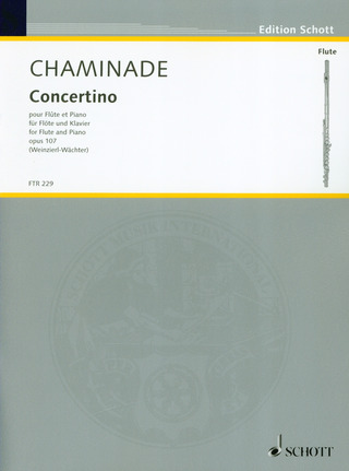 Cécile Chaminade: Concertino op. 107