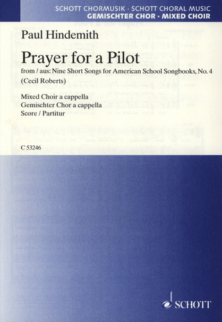 Paul Hindemith: Prayer for a Pilot