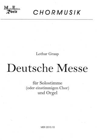 Lothar Graap: Deutsche Messe