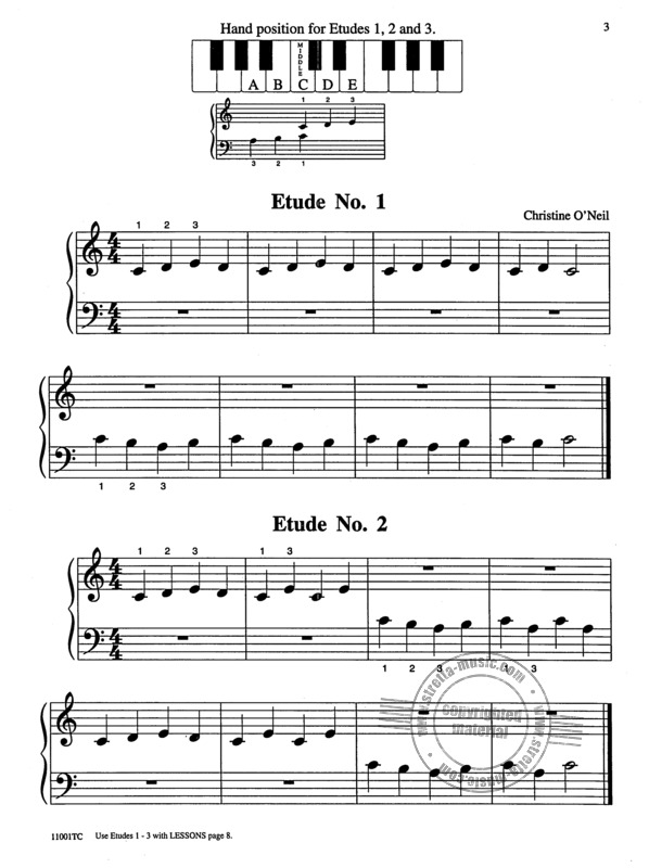 Michael Aaron: Piano Course - Technic 1 (1)