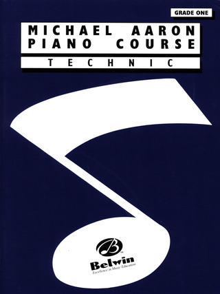 Michael Aaron: Piano Course - Technic 1